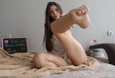 Fetichismo dos pés com sexo na sauna com Nancy A