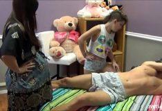 XXporno amador mãe e filha transando com o padrasto